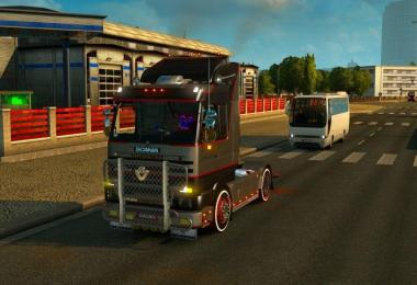 Scania 143M + Interior v4.0 MadYogiEdit for 1.27.2.9