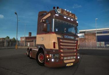 Scania R620 Theo Hoks v4.0 Nikola Edit