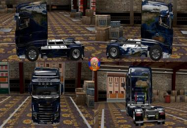 Scania R700 Carte Comdo Skin Packs 1.27.2.9s
