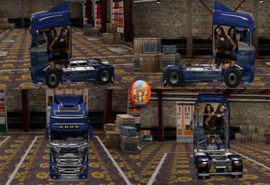 Scania R700 Kat & Bips Skin 1.27.2.9s