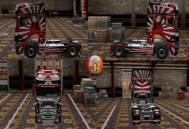 Scania R700 Reebok 2 Comdo Skin Packs 1.27.2.9s