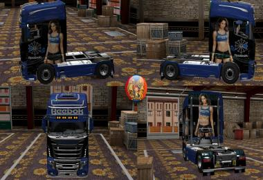 Scania R700 Reebok Comdo Skin Packs 1.27.2.9s