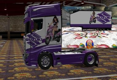 Scania R700 Style R700 V2 Comdo Skin Packs