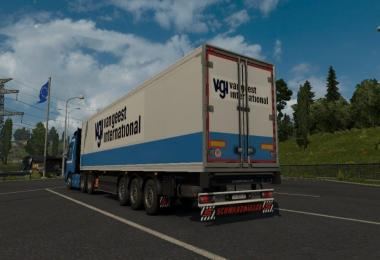Schwarzmuller Van Geest International Reefer Trailer