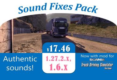 Sound Fixes Pack v17.46