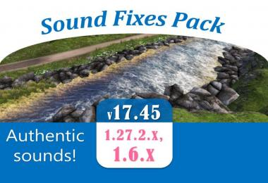 Sound Fixes Pack v17.45