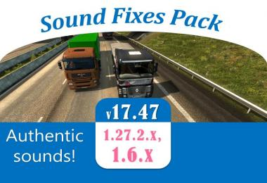 Sound Fixes Pack v17.47