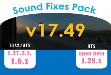 Sound Fixes Pack v17.49