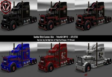 Southern Bitch Custom Skin for Peterbilt 389 v2