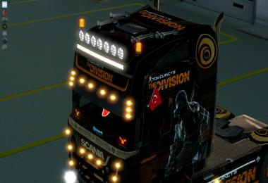 The Division - Scania Streamline Paintjobs 1.27.x