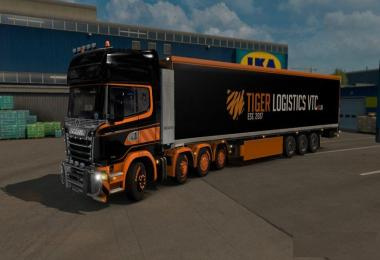 Tiger Logistics VTC Custom Trailer 1.27.x