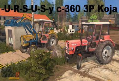 URSUS c-360 3P Koja (FS15) v1.0