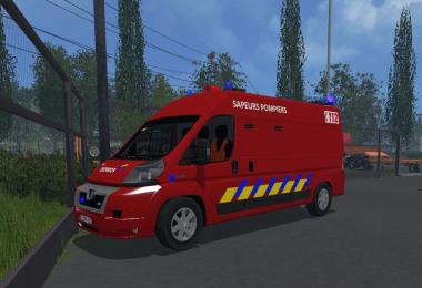 Vehicule de desincarceration des pompiers belges