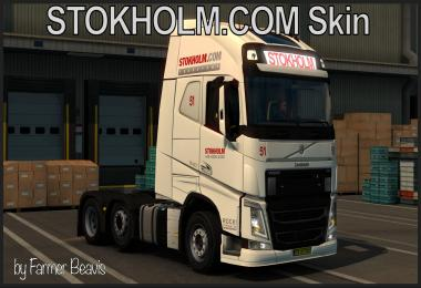 Volvo Skin STOKHOLM COM Transport V1 Fix
