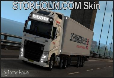 Volvo Skin STOKHOLM COM Transport v1.0