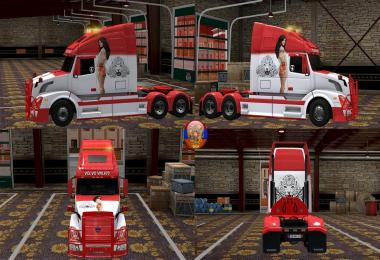 Volvo WNL670 New Style 30 Combo Skin Packs 1.27.2.9s