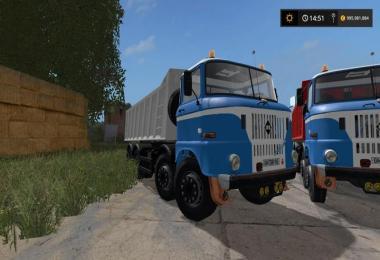 W50 4x4 tipper truck v0.9