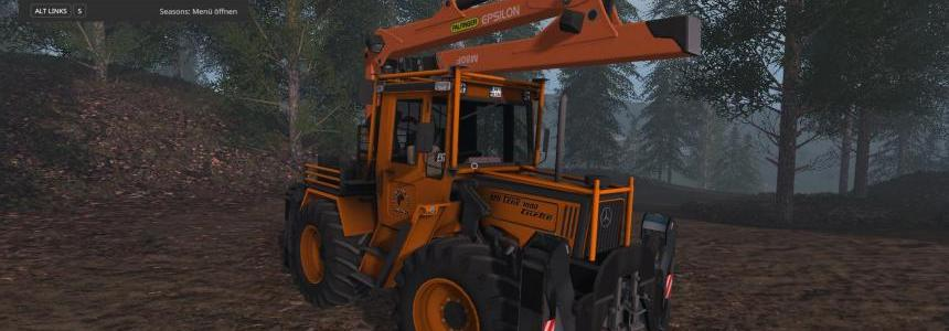 MB Trac 1000 Turbo Forst Edition v1.0