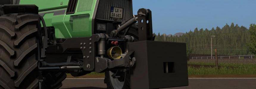 800KG Stahl Gewicht V1.0