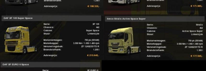 All Trucks 750 HP (SCS Trucks) works with MP