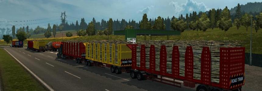 ATS Trucks in ETS2 Traffic v1.28