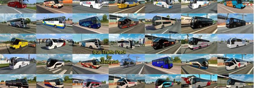 Bus Traffic Pack by Jazzycat v2.5