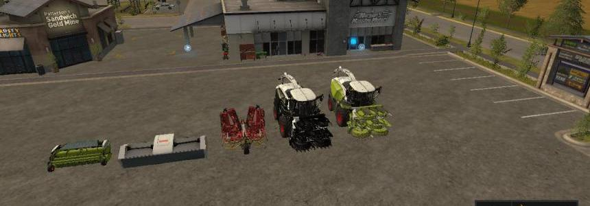 Claas Jaguar 800 Full Pack v1.0