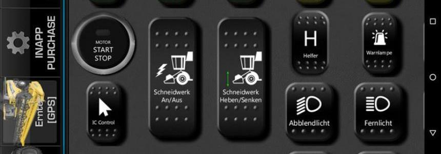 Combine Harvester PowerGrid + GPS v1.1