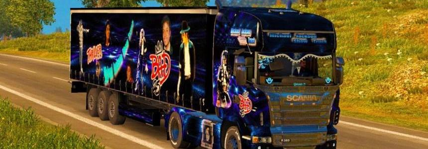 Combo Skin Michael Jackson for Scania R