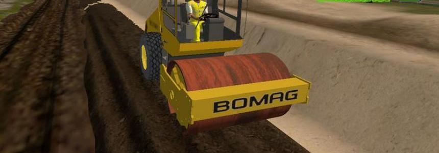 COMPACTEUR MONOCYLINDRE BOMAG BW214 DH3 v1.0