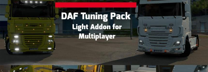 DAF Tuning Pack Light Addon [MP compatible] v1.28.x