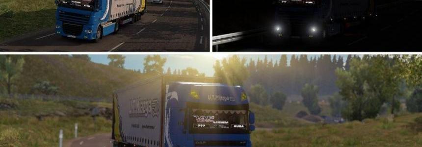 DAF XF 105 + Krone Mega Trailer
