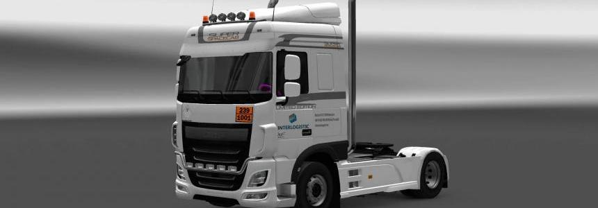 DAF XF E6 Interlogistic skin 1.28