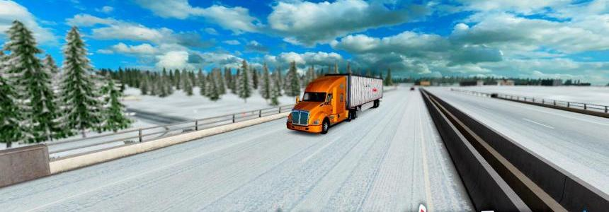 Dalton and Elliot Hwy Extreme - Winter Edition v1.0 (1.28.x)