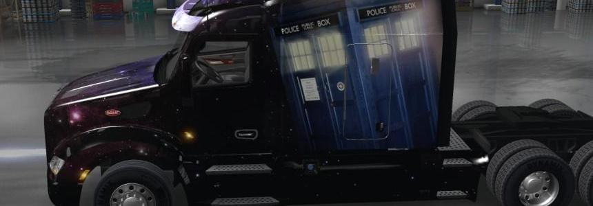 Doctor Who Paintjob Peterbilt 579