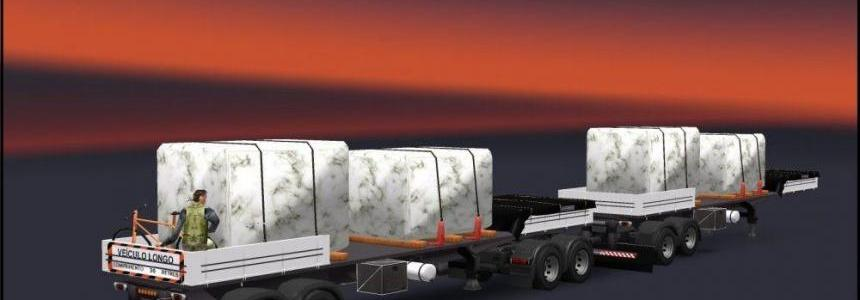 DOUBLE ARTICULATED TRAILER TO TRAFFIC AND CARGO v3.2