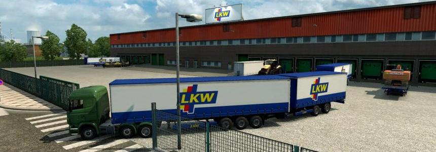 Double trailers in all companies across Europe v1.1