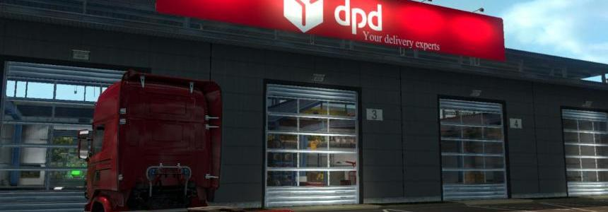 DPD Red Board Big Garage