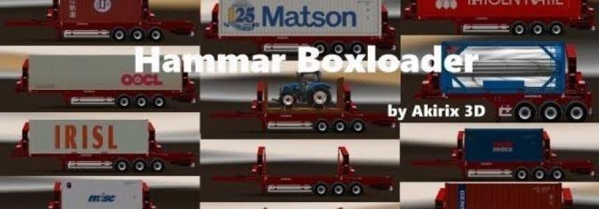 ETS 2 1.28.x Hammar Boxloader v8