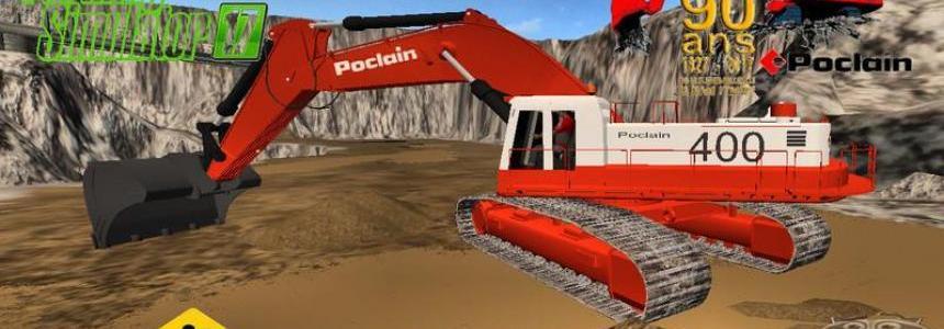 EXCAVATRICE POCLAIN 400 v1.0