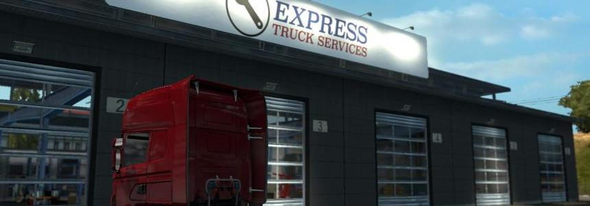 Express Truck Services Big Garage