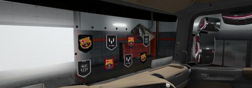 FC Barcelona Pennants Pack