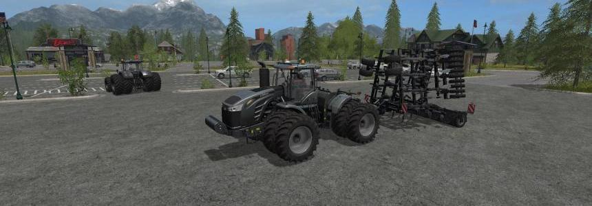 Challenger MT900E & Blackhorsch Tiger 10 LT Plough v1.0