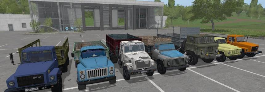 GAZ PACK Farming simulator 17 v1.0