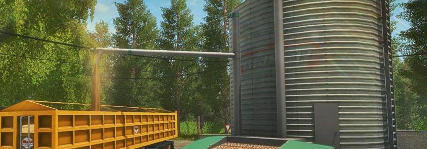 Grains Storage Silo Placeable v1.0.0.0