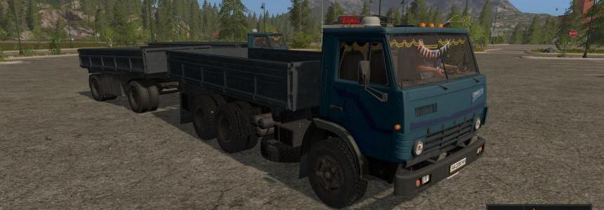 Kamaz 5320 + Nefaz 8560 v1.1