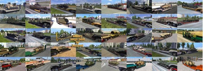 Military Cargo Pack by Jazzycat  v2.3.2