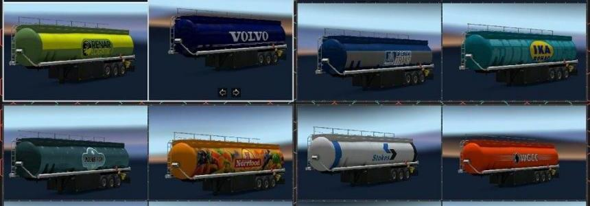 New Paintjob for Fuel Trailer (New Trailer)