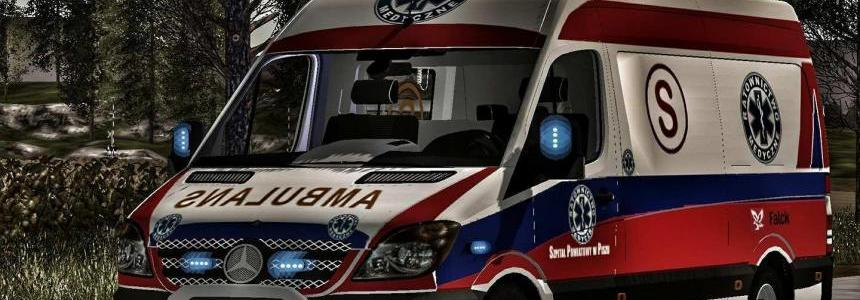 Poland Ambulance MB Sprinter v1.0