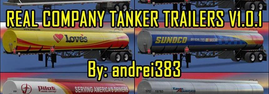 Real Company Tanker Trailers v1.0.1